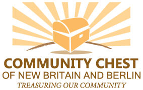 The Community Chest of New Britain and Berlin identifies and invests resources in programs that benefit the New Britain and Berlin communities. Logo
